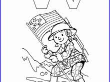 Veterans Day Coloring Pages Pdf Beautiful V For Veteran Coloring