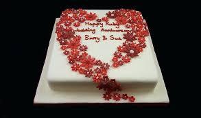 Ruby Wedding Cakes Designs Phxmarchforsciencecom
