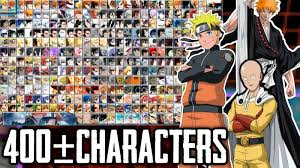 Bleach Vs Naruto Mugen Apk with 400+Characters Download