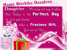 Happy Birthday Quotes For Daughter