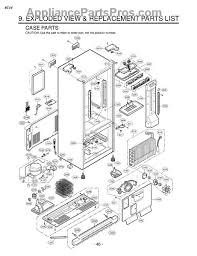 lg refrigerator parts diagram. part diagram lg refrigerator parts