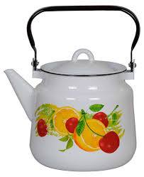 <b>Чайник эмалированный</b> Стальэмаль «Фрутта», <b>3</b>,<b>5 л</b> - купить по ...