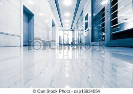 office corridor door glass. Office Corridor Door Glass - Csp13934054