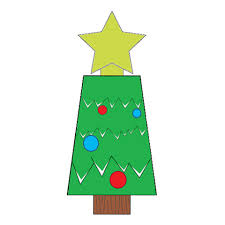 Christmas Tree Paper Toy Free Printable Papercraft Templates