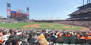 Oracle Park Section 123 San Francisco Giants