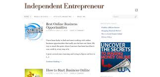 how to build a website for independent entrepreneur how to build a website for