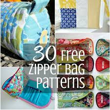 Free Bag Patterns Extraordinary Loads Of Free Zipper Bag Patterns Scrappy Girls Club