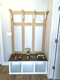 white entryway furniture. Diy Mudroom Bench Part 2 Entryway Plans Ana White Free Benches Designs Furniture