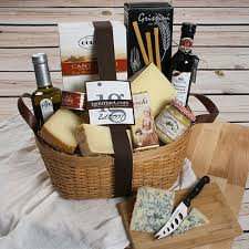 for anyone who loves to cook getting a gift basket filled with new specialty vinegars and oils are always a treat for a cook
