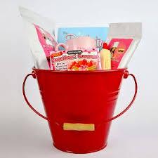gift basket sugar free diabetic friendly large red basket