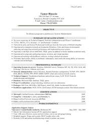 Windows System Administrator Resume Systems Administrator Resume