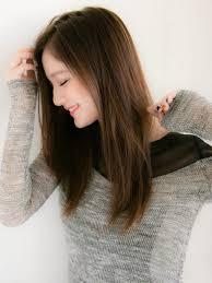 柔らかなロングソフトスタイル縮毛矯正ストレート特集 髪型 ロング 縮
