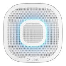 onelink safe sound smart smoke and carbon monoxide alarm with alexa 1039102 first alert first alert
