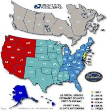 Usps Zone Chart For Shipping 13 Discriminative Usps Postal Zone Chart
