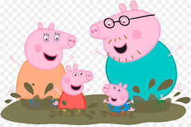 pig wall decal muddy puddles sticker mural peppa on peppa pig wall art stickers with pig wall decal muddy puddles sticker mural peppa png download