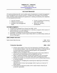 Product Manager Resume Examples Lovely Good Example A Resume Unique ...