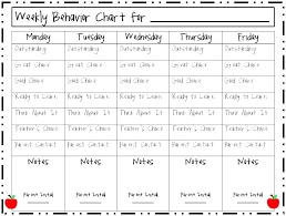 behavior charts for preschoolers template behavior modification chart template behavior modification charts