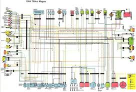 1984 85 700 750cc magna wiring diagram v4musclebike com click image for larger version 1984 1985 700 750cc magna wiring diagram