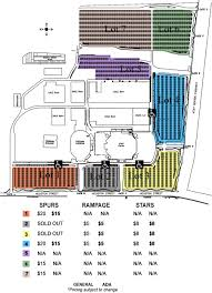 San Antonio Rodeo Tickets Seating Chart Ticket Information Att Center