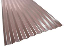 architectural corrugated metal wall panel