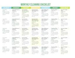 monthly house cleaning schedule template template daily house cleaning schedule template weekly monthly