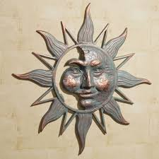 inspirational sun moon outdoor wall decor 1