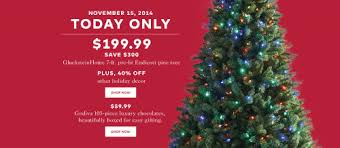 Hudson's Bay Canada Holiday Sales