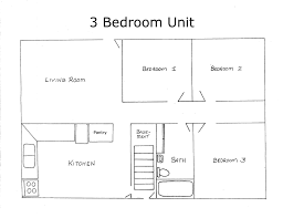 Modern 3 Bedroom House 3 Bedroom House Map