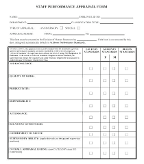 Employee Evaluation Checklist Template Staff Evaluation Form Template Staff Review Form Template E