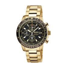 seiko mens gold tone solar alarm chronograph aviators watch ssc008 seiko mens gold tone solar alarm chronograph aviators watch ssc008 jewelry watches men s watches