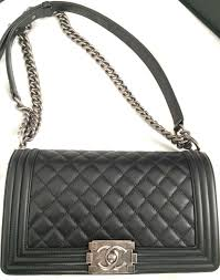 Two Iconic Chanel Bags In Europe | Bragmybag & chanel-boy-quilted-flap-bag-in-black Adamdwight.com