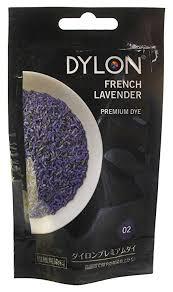 Dylon Dyes Colour Chart Nz Dylon Hand Dye Powder French Lavender
