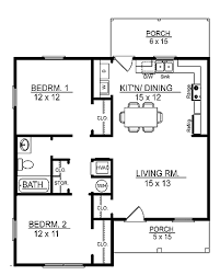 The home blends traditional elements and comfortable family styling for a plan that makes a perfect place to call home. 3 bedrooms and 2 baths 1,941 square feet see plan: Cottage Style House Plan 2 Beds 1 Baths 856 Sq Ft Plan 14 239 House Plans Coastal House Plans Small Cottage House Plans
