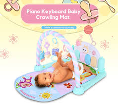 Baby Play Mat Light Up Us 28 7 33 Off Animals Musical Baby Crawling Mat Piano Keyboard With Rattles Light For Babies Over 1 Year Old In Play Mats From Toys Hobbies On