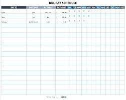 Excel Bill Tracker Template Excel Bill Tracker Template Theredteadetox Co