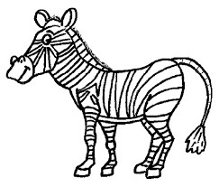 Small Picture Inspiring Zebra Coloring Page Gallery Kids Ide 2963 Unknown