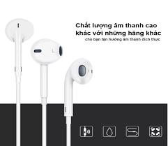 Tai nghe Bluetooth có dây cổng LIGHTNING sử dụng cho Iphone 7 đến Iphone 11  ProMax, chất âm hay