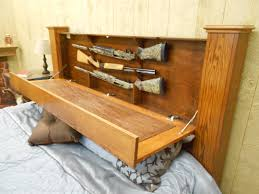 Headboard Bench Plans Concealed Storage King Size Bed By Lcsi Concealed Storage Diy