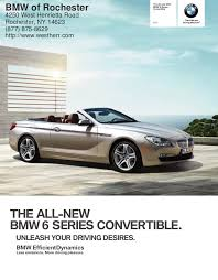 2012 Bmw 6 Series Convertible For Sale Ny Bmw Dealer Near Buffalo