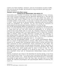 Cause And Effects Essay Examples Divorce Essays Co Divorce Essays