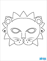 Small Picture Coloring Pages Masks And Masquerade Coloring Pages Hellokids Mask