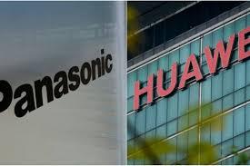 Resultado de imagem para Toshiba e Panasonic também suspendem fornecimento à Huawei