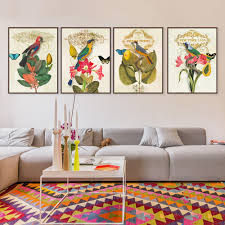 Oil Paintings For Living Room High Quality Parrots Birds Oil Paintings Promotion Shop For High