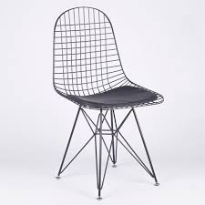black mesh eiffel style wire dining chair dining chair uk