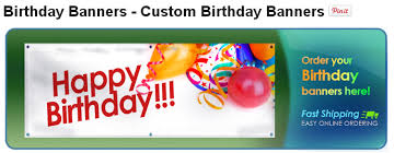 custom happy birthday banner banners com how to make birthday banners
