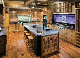 Transitional eclectic casual kitchen