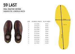 Shoe Size Conversion Shoe Size Chart Dr Martens