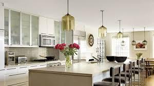 Pendant kitchen lighting Led Architectural Digest 31 Kitchens With Pretty Pendant Lighting Architectural Digest