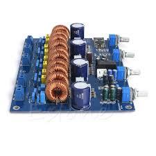 Assembled YJ TPA3116 4.1 class D <b>Bluetooth</b> amplifier board 4 ...