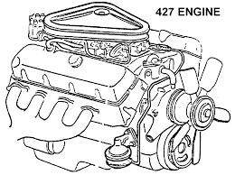 427 engine diagram view chicago corvette supply